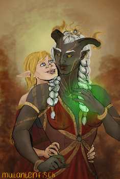 Dragon Age Wives by Mutantenfisch