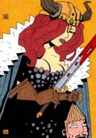 Red Sonja 18 and 19 by soliton