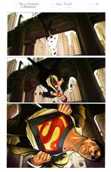 Superman Sample by rogeantonioart