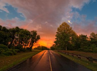 Rainbow Road by JustinDeRosa