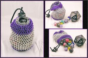 Epic Dice Bag by chainedoombaby