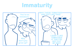 Immaturity by SmokyJack