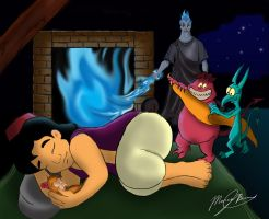 A Cold Night in Agrabah by mr-suavemente