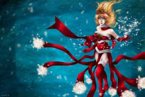 League of Legends - Christmas Janna by VIIFinalHeartsII