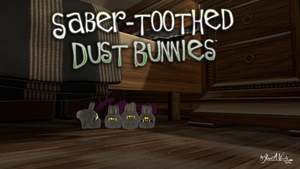 Saber-tooth Dust Bunnies by JWraith