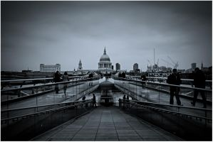 Millenium Bridge by stekkes