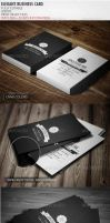 Retro Business Card by vitalyvelygo