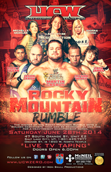 UCW - Rocky Mountain Rumble by TheIronSkull