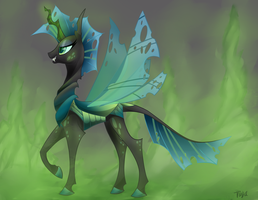 Queen Chrysalis by FizzyTiger