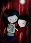 Marceline X Marshall Lee by DarkXAngelism