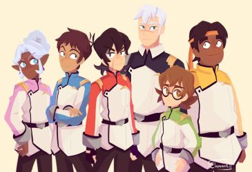Team Voltron! by Chromel