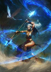 White Sorceress by MrDream