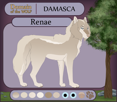 [DOTW - Application] Renae | Damasca by smimley