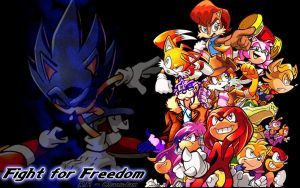 Sonic 200 - Fight For Freedom by ChaosJam