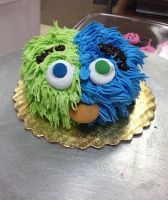 Monster Cupcake by LucyQ602