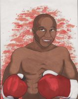 Floyd Mayweather by angelacapel