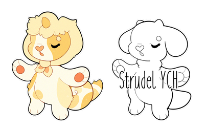 [ CLOSED ] Strudel YCH by jenbeary