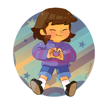 UNDERTALE FRISK by Stick2mate