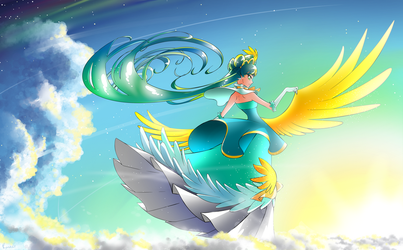 The Majestic Sky's Sovereign by Rona67