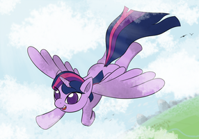 Flying High by UnderwoodART