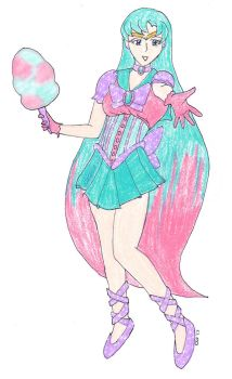 Secret Santa Gift - Sailor Cotton Candy Sparkle by CKNelson
