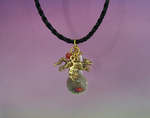 Dance of the Dawn Fox Spirit Pendant by DaybreaksDawn