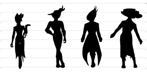 ???_Height_Silhouettes by Sega-Superstar