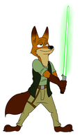 Jedi Nick by TateShaw