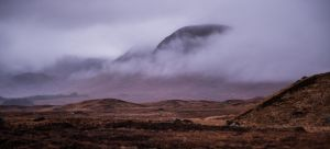 Rannoch Moor and the mist by BusterBrownBB
