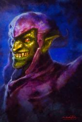 Green Goblin by MitchGrave