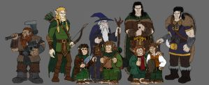 The Fellowship of the Ring by Mara999