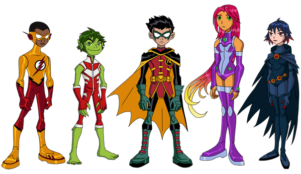 Teen Titans: Rebirth by Glee-chan
