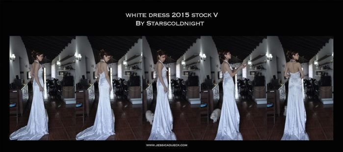 White Dress 2015 Stock 5 By Starscoldnight by StarsColdNight