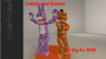 Freddy and Bonnie's IK Rig (SFM) by Hexedecimal