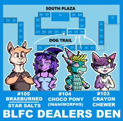 Vending at Biggest Little FurCon 2018 by SouthParkTaoist