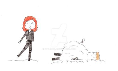 Clintasha Snowball Fight by Cmurray44