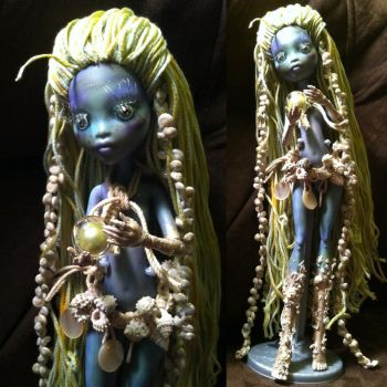 Hagatha Brine: Sea Hag Monster High Custom by TerribleToadQueen