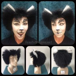 Mistoffelees wig- fake hair by theassassinnox