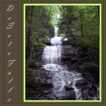 Desoto Falls Complete by madnimadhatter