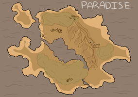 Map of Paradise by Jomadis