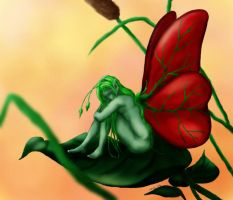 Leaf Born by Gusdefrog colored by pazazz