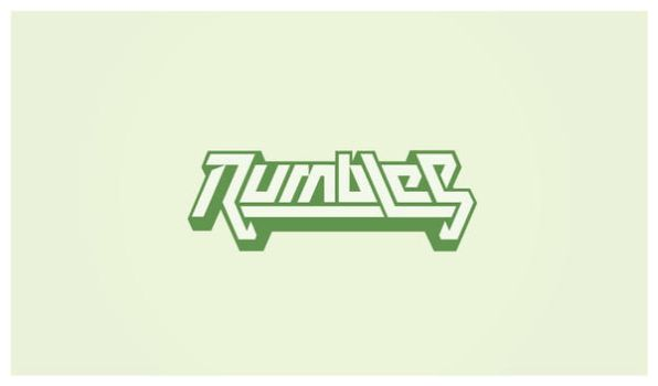 Rumbles - Logo by Neverdone