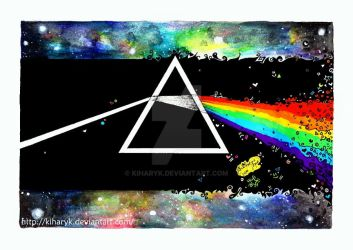 The dark side of the moon by KiharyK
