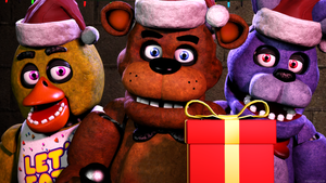 Merry Christmas! (SFM FNAF) by TheSitciXD