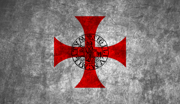 Templars flag by HistoryBuf