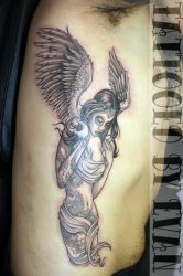 Tattooed Angel by emcdclxvi