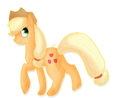 [ P O N Y ] AppleJack by alicesstudio