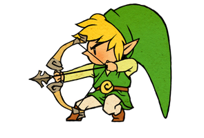 Archery Link by cerasly