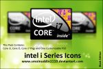 Intel i Series Icons BE by smoinuddin1110
