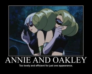 Annie and Oakley motivational by FusionStorm